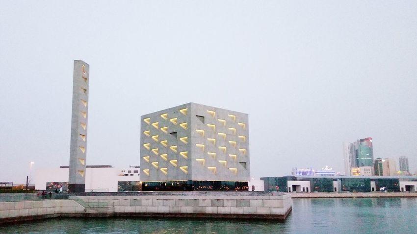 Lake City Mosque Building Exterior Architecture Bahrain Bay Manama Bahrain Tourism Bahrain Tourism