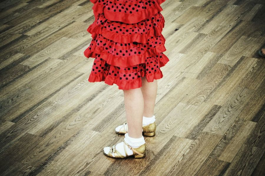 Child Girls Tradition Childhood Young Adult Ballroom Dancing Dress Spanish Style Ballroom Dance Spanish Activity Girl Red Lifestyles Dancing Performance Arts Culture And Entertainment Dancer Standing Ballroomdancing Human Body Part Human Leg One Person Only Women