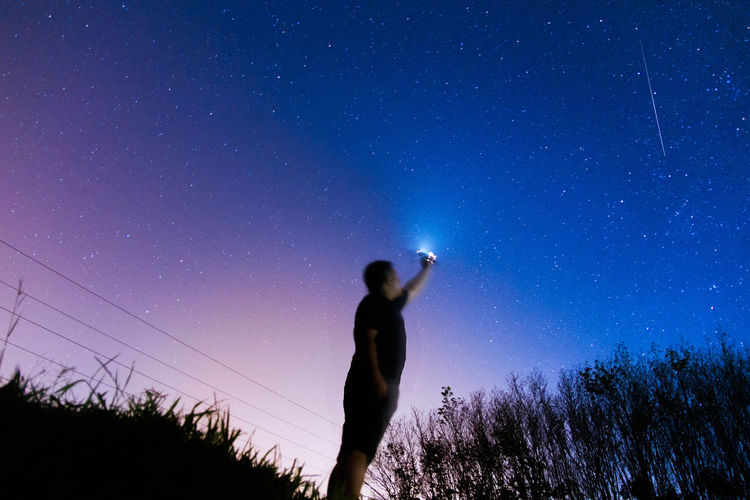 Selt portrait Astronomy Constellation Galaxy Men Nature Night Outdoors People Selt Portrait Sky Space Space And Astronomy Star - Space Star Field EyeEmNewHere