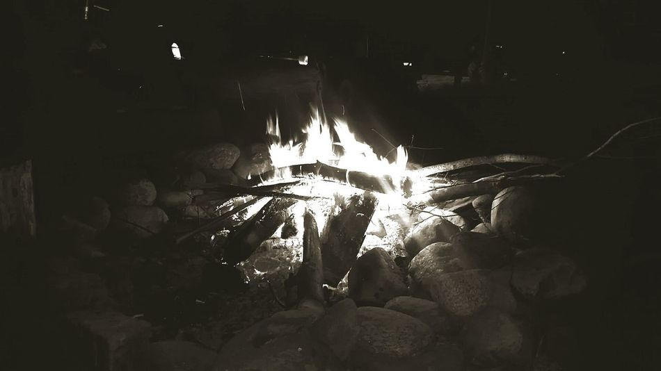 Summertime Bonfire Hanging Out Taking Photos Enjoying Life Live Free Or Die New Hampshire 603 Flames
