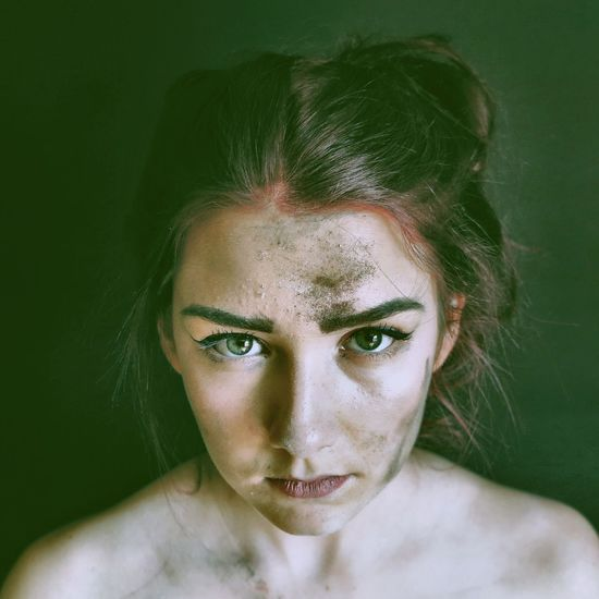 Beautiful Emotional Photography Emotions Hair Portrait Of A Woman Woman Art Beauty Close-up Dirty Emotional Eyes One Person Portrait Portrait Photography Skin Studio Shot Wild Woman Portrait Womanity  Young Adult