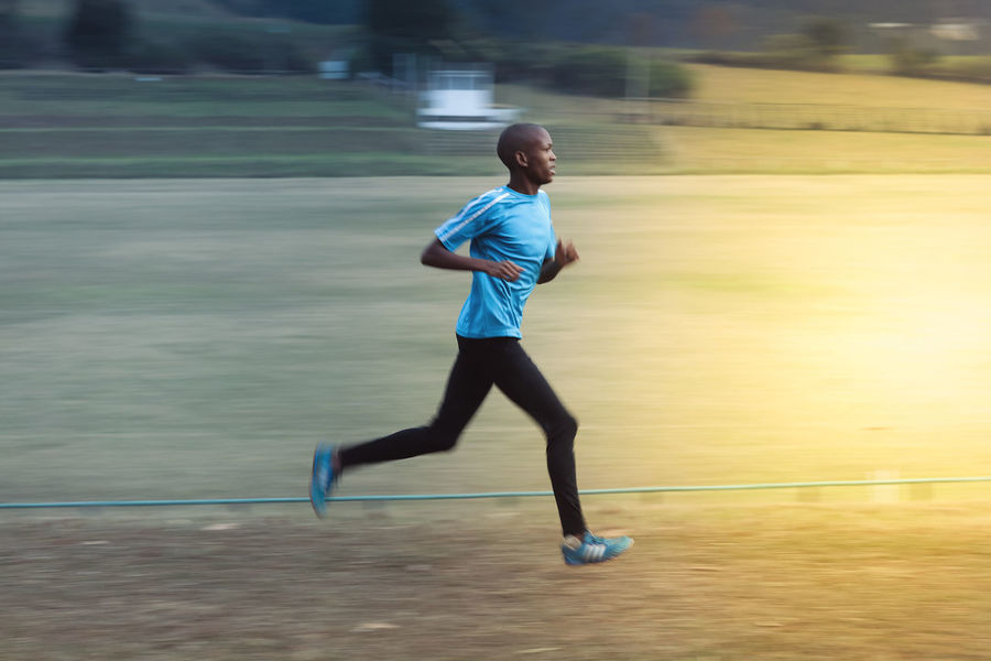 Running into the light Active Durban Into The Light Leisure Activity Morning Outdoors Parkrun Running Running South Africa Sprint