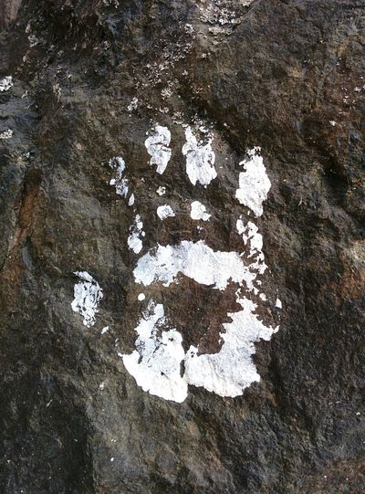 Handprint Iwashere