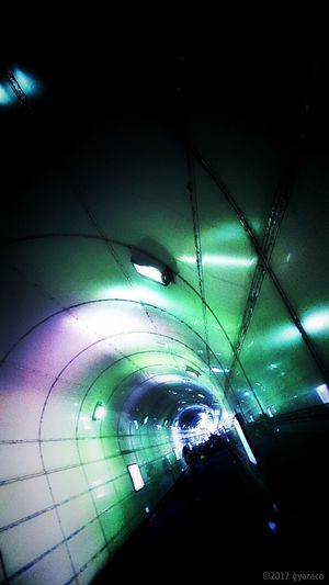 Mobilephotography Warking Around On The Road From My Point Of View Tunnel