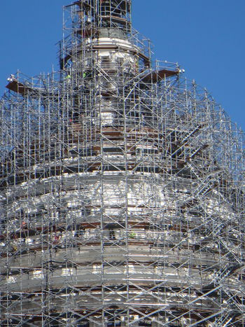 Blue Sky Scaffolding The Capitol Washington, D. C. Construction