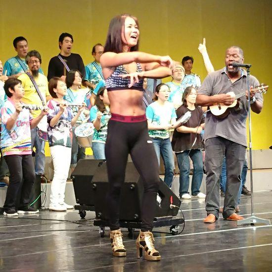 サ ンバの練習 サンバカーニバル