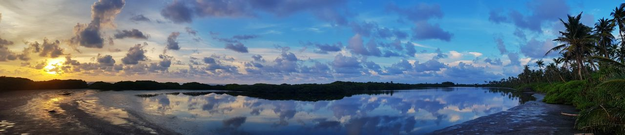 lakeish EyeEmNewHere EyeEm Best Shots EyeEm EyeEmNewHere Reflection Tree Cloud - Sky Scenics Nature Lake Sky Outdoors Mountain Panoramic Beauty In Nature No People Landscape Forest Day Water