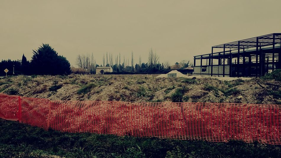 The EyeEm Facebook Cover Challenge Vintage Orange Site House InTheRoad Inthecar