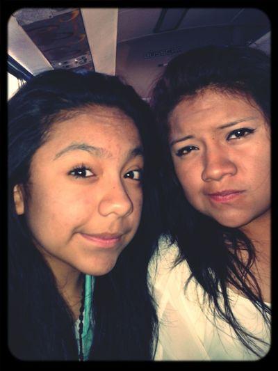 pues aqui con mi hermana Jss''