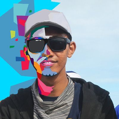 Face Colouring  Draw Wpap Art Artdaily Popart Design Gift I 'am By_riobhintoroo Photoshop Psd  Jpeg Image Edit Indonesian Instagram