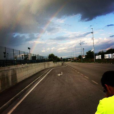 Running Corsettinapomeridiana Ranibow Lastradaènostra settecolori arcobaleno happy ?