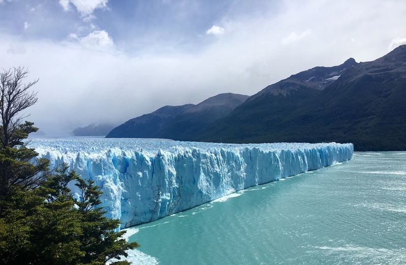 Scenic Landscape From Los Glaciares National Park