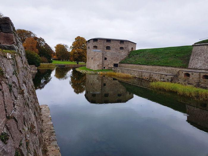 Kalmar Slott, Sweden Landscape Sweden Reflection Water