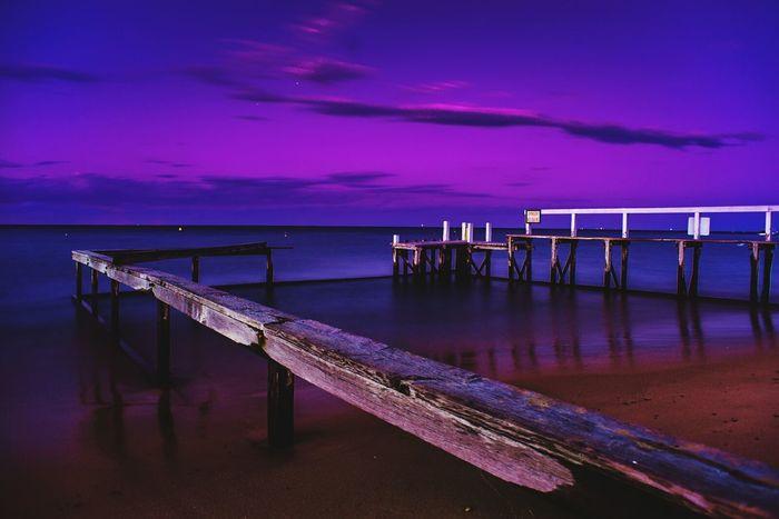 Jetty Sunset Jetty Mornington Peninsula Victoria Australia Colors Landscape Landscape_photography Nature Photography Port Phillip Bay First Eyeem Photo