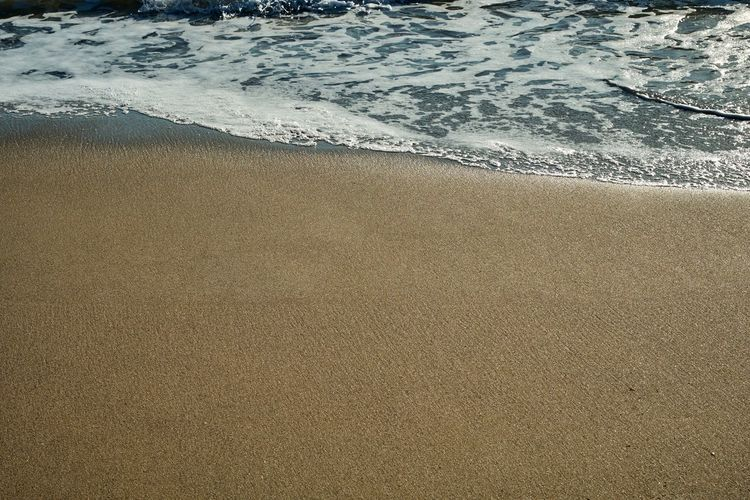 Beach Beauty In Nature Close-up Day High Angle View Nature No People Outdoors Sand Sea Water Wave