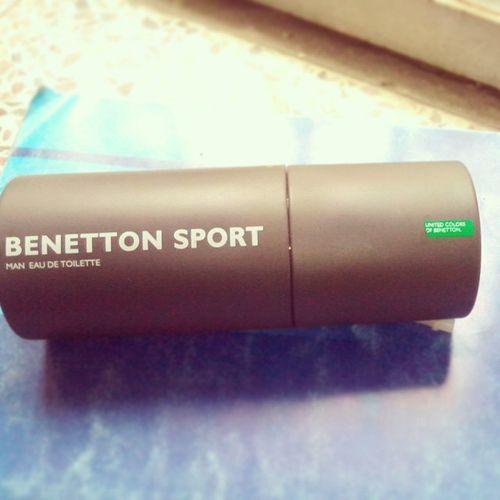 My new perfume Benetton_sport :)