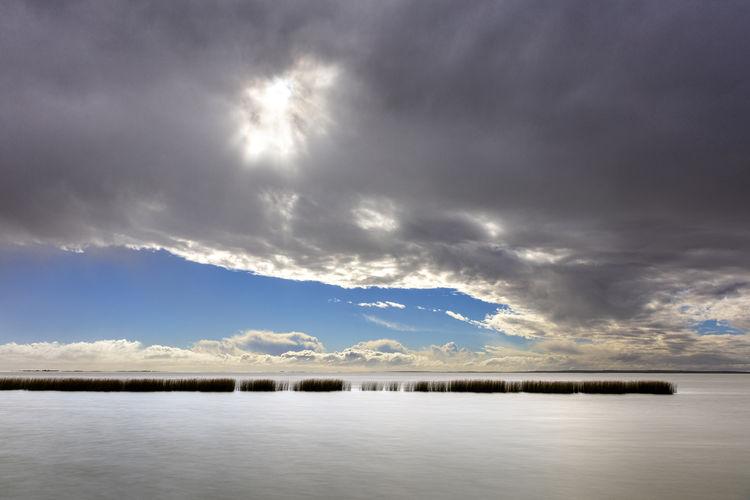 Sky Cloud - Sky Water Sea Waterfront No People Storm Cloud