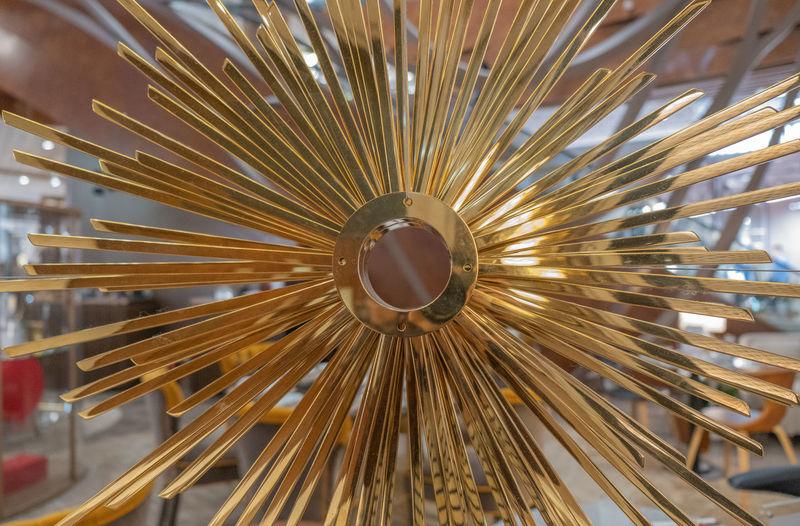 Directly below shot of illuminated ferris wheel