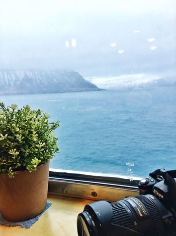 Breakfast View From The Window... Ferry Iceland Ahead Iceland116