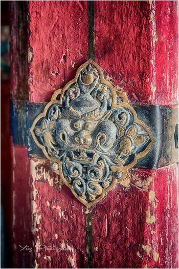 Traditional Door Travel Photography Red Close-up Outdoors Nikonworld NikonAsia Nikond750 Passionphotography Nikon Nikonphotography Tibet Travel Tibet