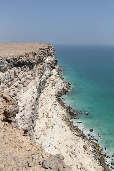 Offroad trip from Muscat to Salalah: steep costline near al Duqm 4x4 Adventure Arabic Coast Coastline Driving Dry Horizon Over Water Landscape Nature No People Ocean Offroad Oman Oman_photography Outdoors Road Rock Sand Sea Spectacular Steep Trip Wide