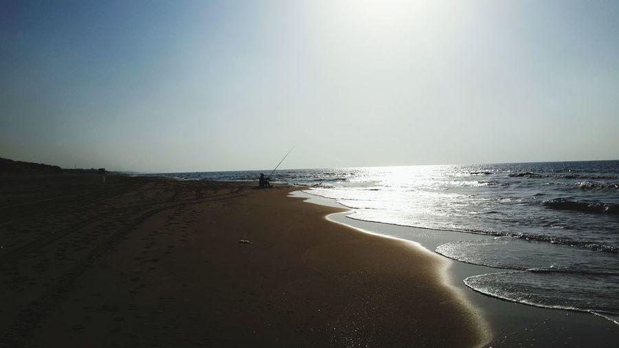 Relaxing Sea Enjoying Life People