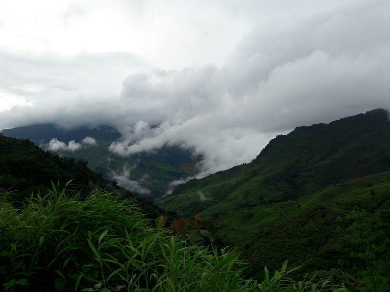 Mountains Green Nature Beautifulview Arunachal Pradesh Tirap India Patkai Hills