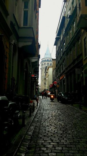 Galata Tower Turkey City Street Day Coffee Time Read Time To Relax Really Lifestyle Architecture First Eyeem Photo Welcome To Black