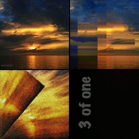 Sunset Lake Ontario Decim8 3 Of One