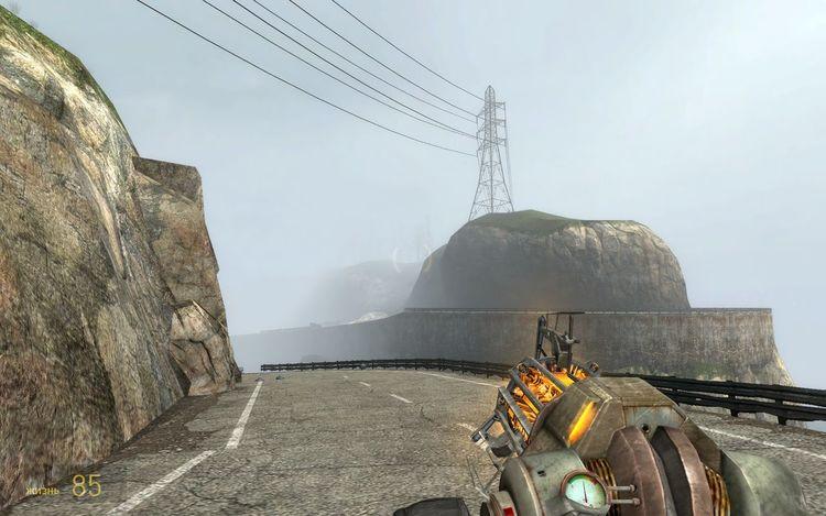 Transmission Line Tower Half-life2 Virtual
