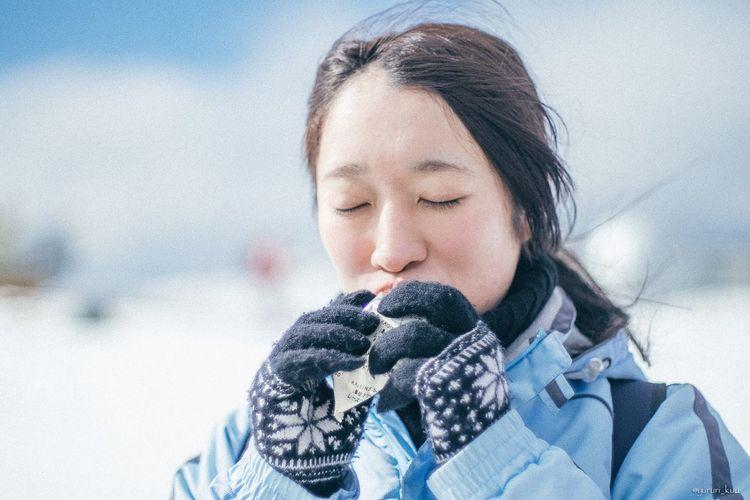 EyeEmBestPics EyeEm Best Shots Japan Fujixt1 Portrait Snow Winter