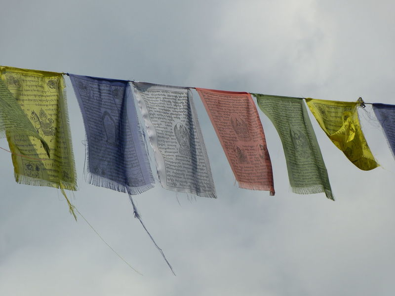 EyeEmNewHere No Edit/no Filter No People Outdoors Sky Tibetan Prayer Flags