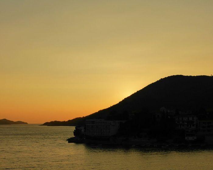 The Great Outdoors With Adobe Sea Seaside Peninsula Evening Evening Lights Summer Croatia View Relaxing Brna