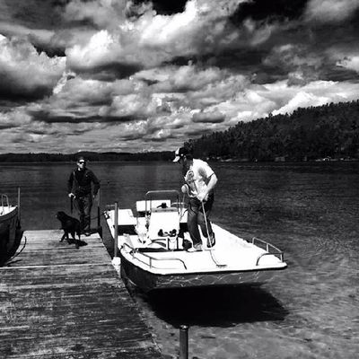 Stole this from Big Bruce whos was getting all artsy with his iPhone. Bearisland Lakewinni NH Islandlife
