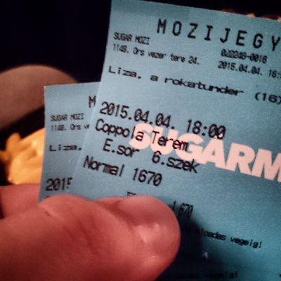 Mozizunk. Liza a rókatündér. Cinema MOVIE Sugarmozi Instamood Instagram Instamovie Lisamovie Hungary