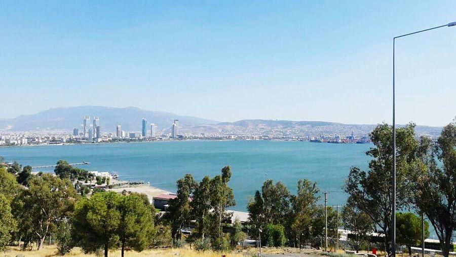 Bayraklı, İzmir Blue Water Beauty In Nature Freshness Izmirlovers