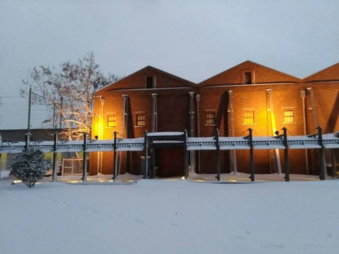 Eveningscenery Snow Day Evening View Evening Walk Cold Temperature Snow Winter Built Structure Architecture Building Exterior No People Day Outdoors
