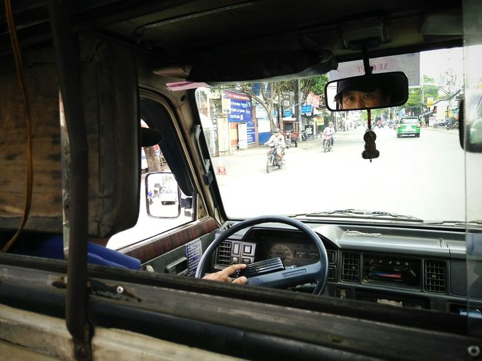 The Journey Is The Destination on TukTuk in Ho Chi Minh City
