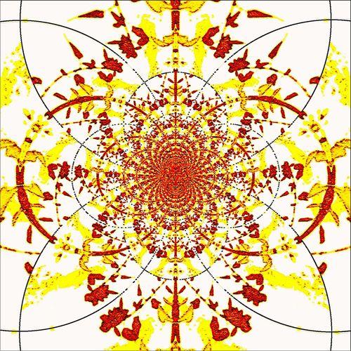 Fractals Sacred Geometry Graphic Design ArtWork
