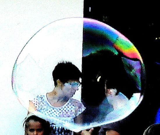 Urban Lifestyle Enjoying Life Colors Bubble