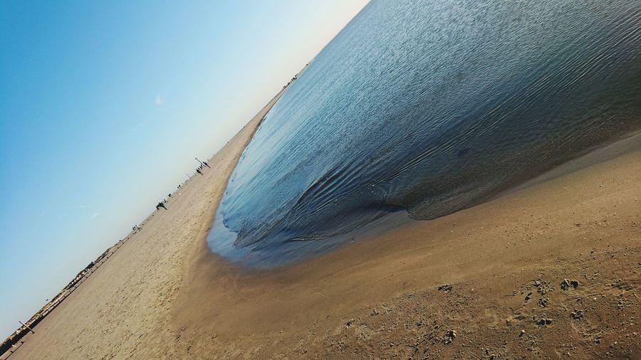 Winter Sun Sand Dune Beach Sand Sea Cold Temperature Sky Landscape Wave Coast Shore Sandy Beach Calm Seascape Tide