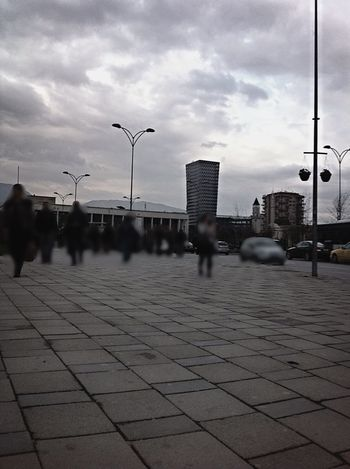 I ❤️ Tirana Tirana Albania The Places I've Been Today Architecture Architecture_bw People Urban Urban Geometry City