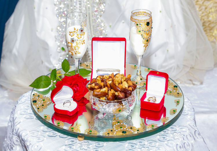 Morocco Event Flower Food Food And Drink Jewelry Life Events Mariage No People Plate Sweet Food Table