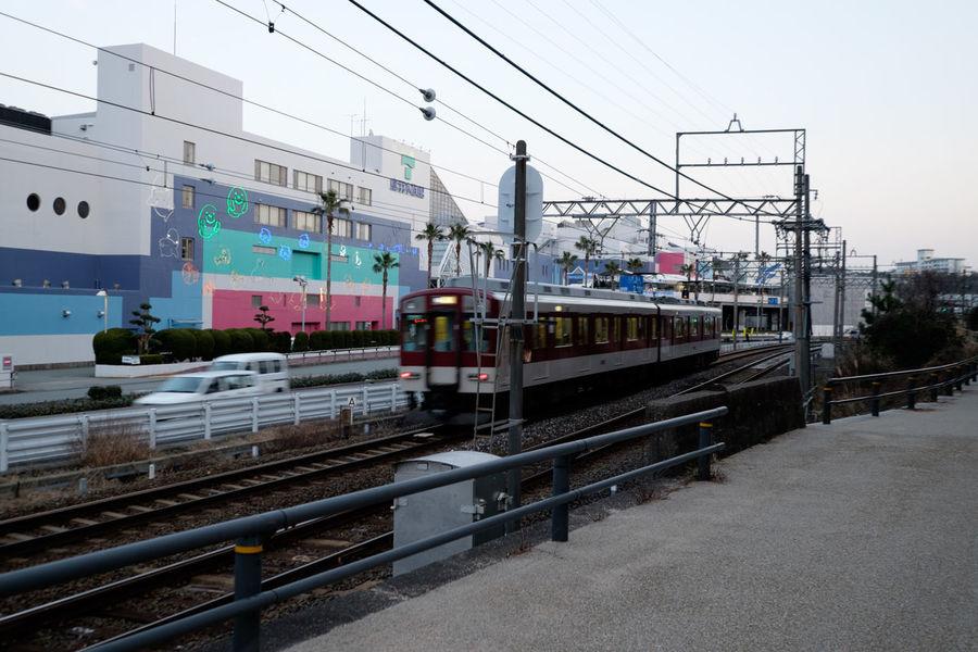 City Life Fujifilm Fujifilm X-E2 Fujifilm_xseries Japan Japan Photography Public Transportation Rail Transportation Railroad Track Train Transportation Xf10-24mm 撮り鉄ではない 電車 鳥羽 鳥羽水族館