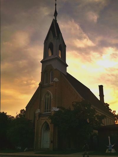 Old Churches Clouds And Sky Eyeem Michigan PhonePhotography