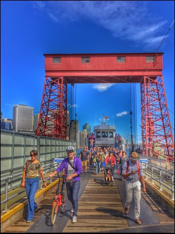 #eyeem on GI _ Debarking Ferry - 9/24/16 #eyeem On GI As I Sees It EyeEm Photowalk In NYC EyeEm Photowalk NYC First On First Off Fresh On Market September 2016 IPhone Edits W/ Snapseed Landing On Governor's Isl. The Journey Is The Destination