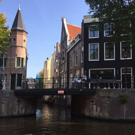 Amsterdam Canal Built Structure Building Exterior Architecture Building City Water Sky Outdoors