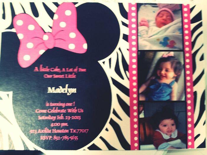 My Babys Invitations:)