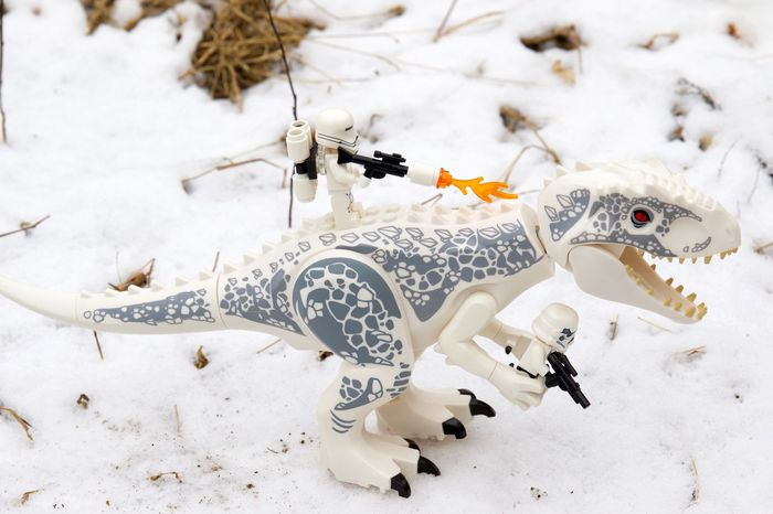 Star wars on ice Camouflage Check This Out Danger Dangerous Dinosaur Fear Gun LEGO Lego Minifigures Legophotography Miniature Outdoor Photography Outdoors Snow Snow ❄ Snowing Star Wars White Background White Color Winter