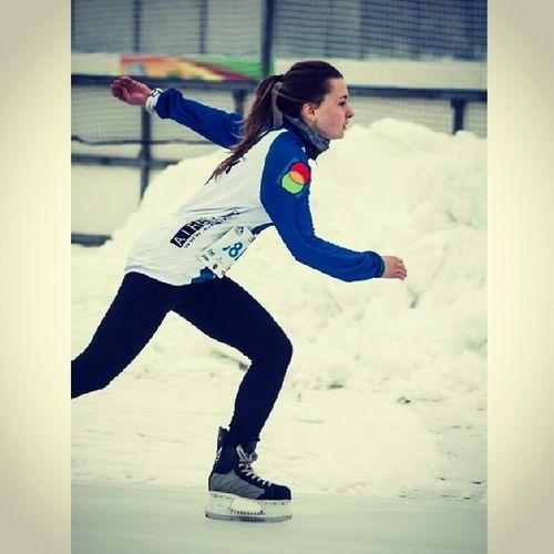 Ja  łyżwiarka Thriatlon Zimowy 2014 drużynowo WKK Stegny